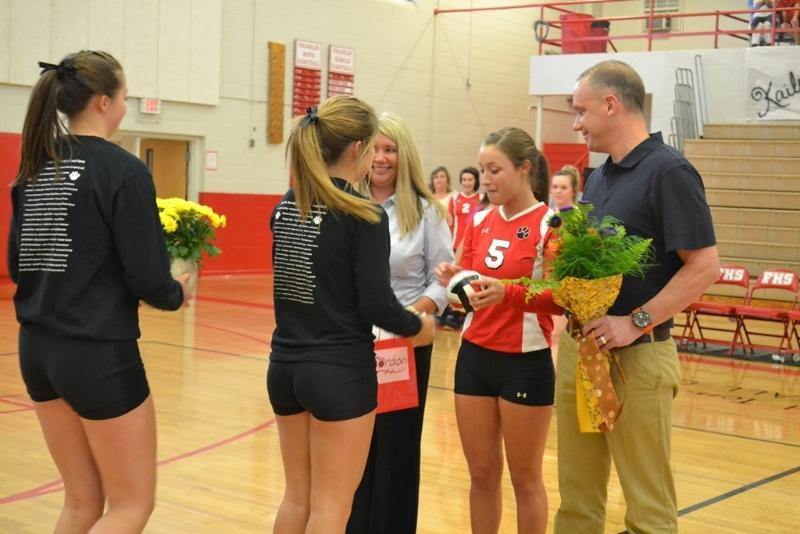 Volleyball senior night ideas pictures