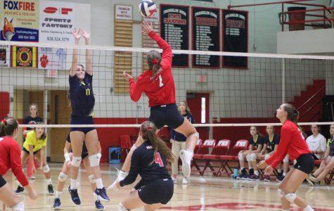 JV. Volleyball vs. ACA