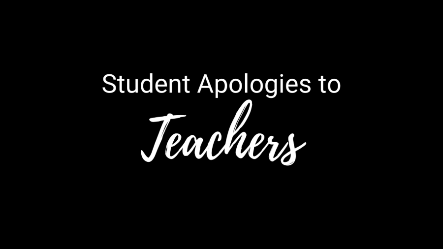 Video: Student Apologies to Teachers