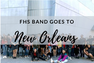 FHS Band Goes to New Orleans