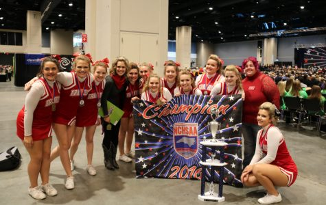 FHS JV Cheer State Champions