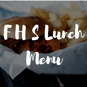 Lunch Menu: Week of November 30th