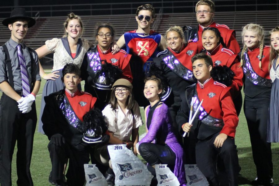 2019 FHS Band Show: The Immortal (Color Guard)