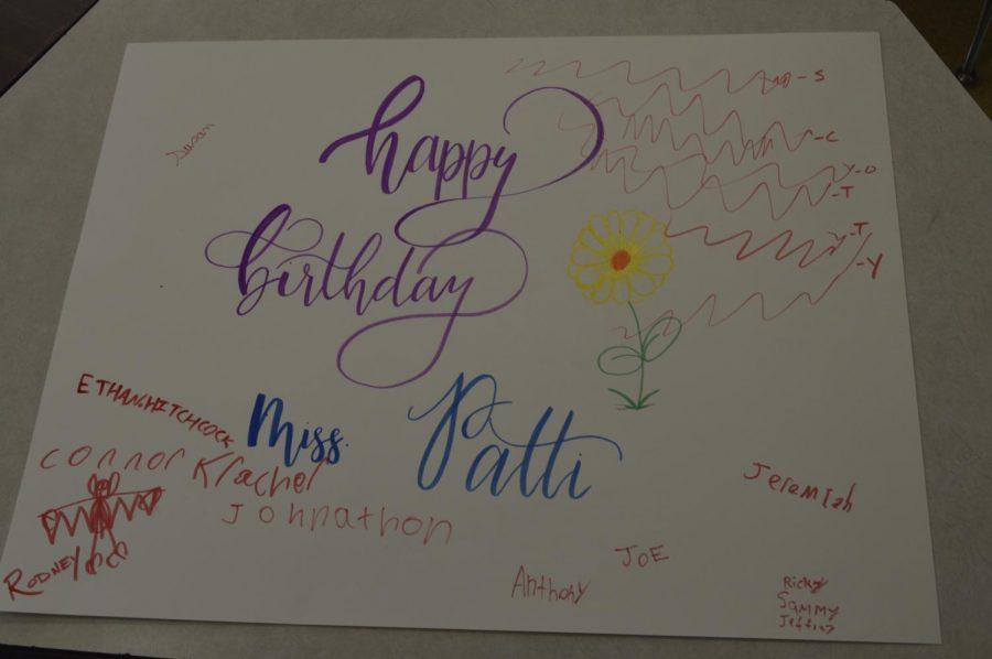 Mrs. Patti's Birthday Classroom Insider