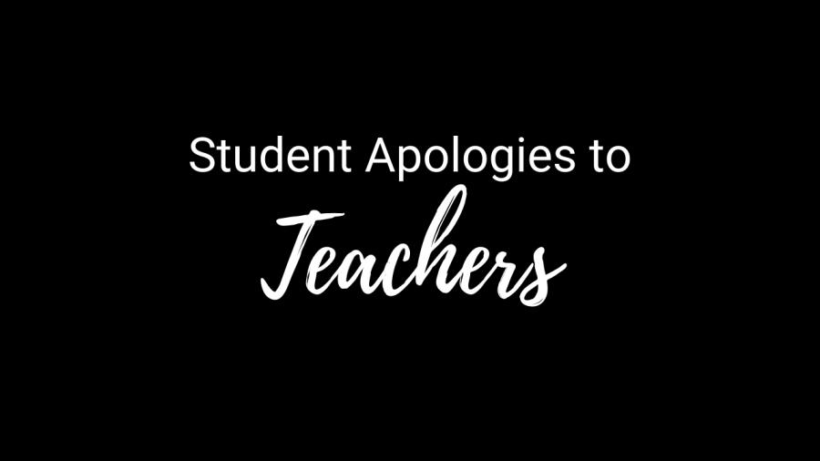 Video: Student Apologies to Teachers