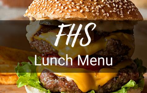 Lunch Menu the Week of February 21