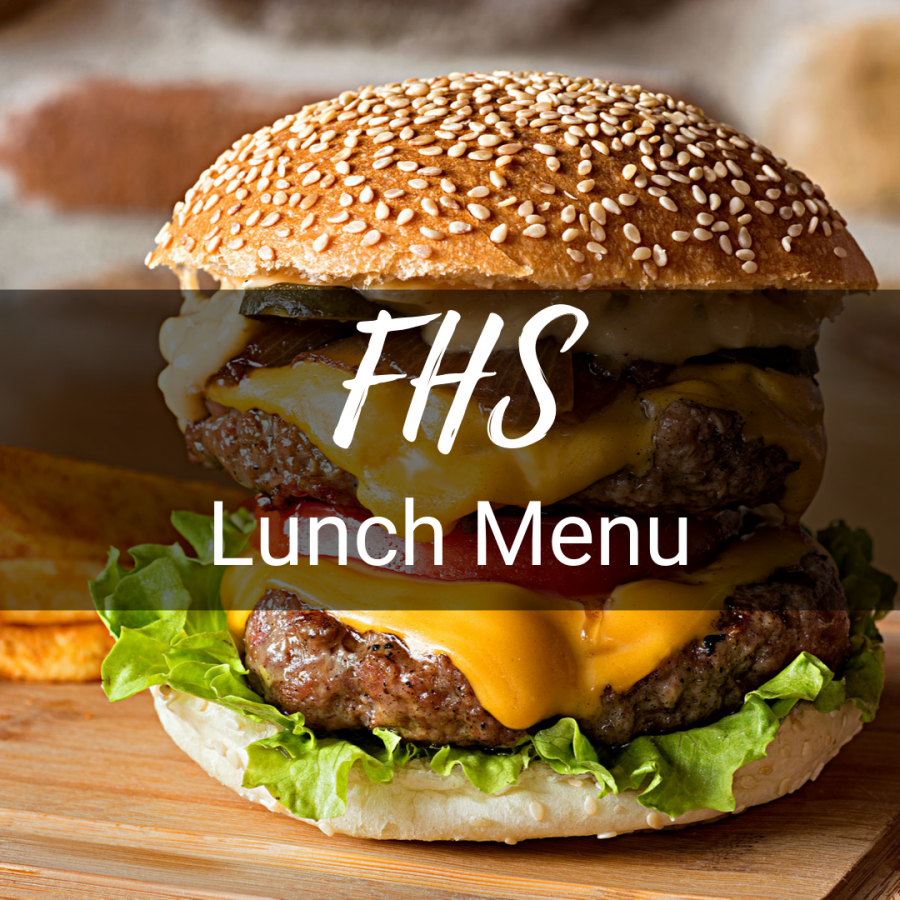 Lunch Menu for the Week of October 26, 2021