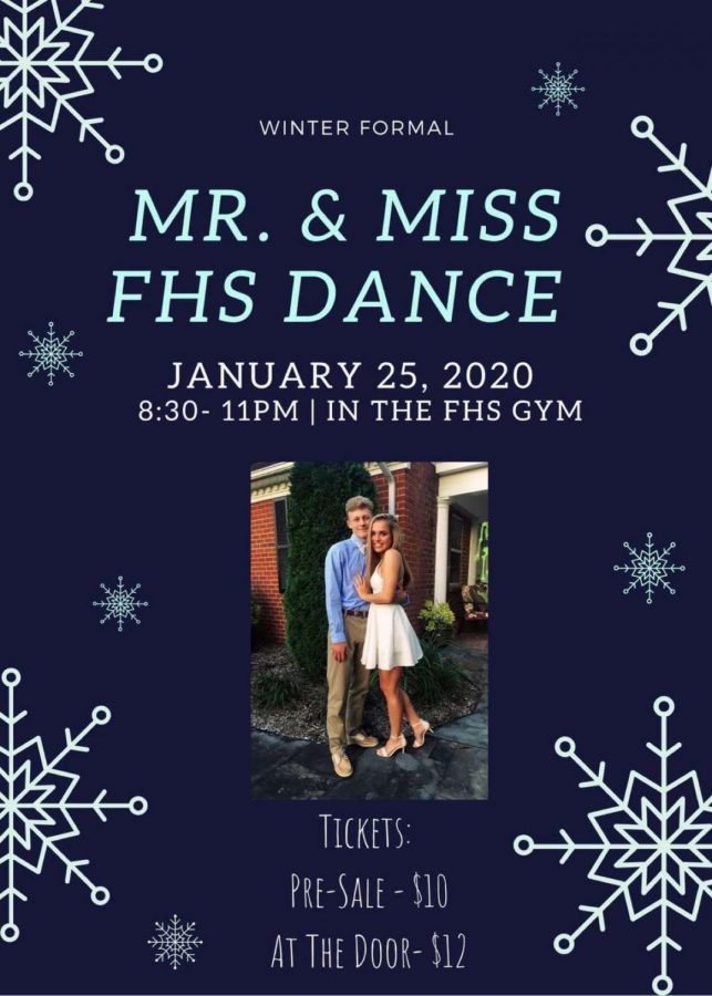 Mr. and Mrs. FHS Winter Formal