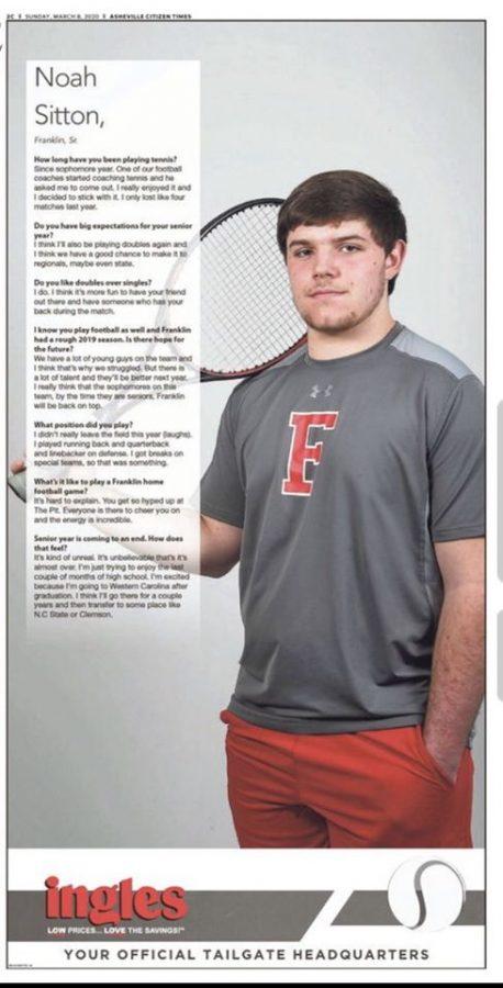 Asheville Citizens Athelete of the Week: Men's Tennis