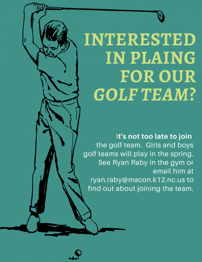 Join the Golf Team