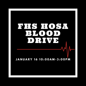 HOSA Blood Drive