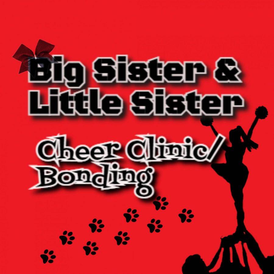 Big Sister & Little Sister Cheer Clinic / Bonding