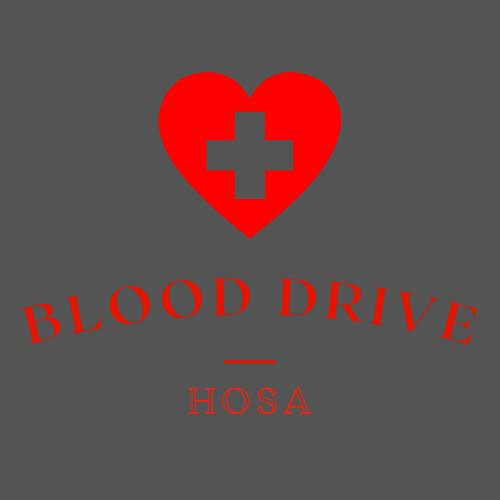 The HOSA Blood Drive
