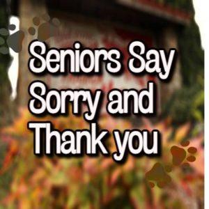 Senior's Say Farewell