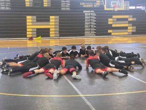 Wrestling Team brings the HEAT