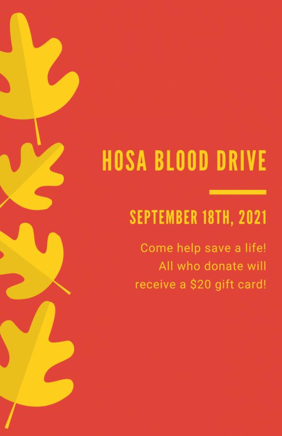 FHS Blood Drive