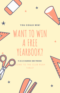 Win a Free Yearbook!